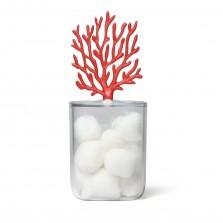 Δοχείο Οργάνωσης Μπάνιου Coral (Κόκκινο) – Qualy