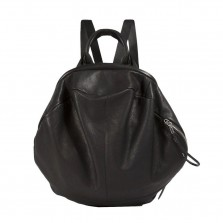 Δερμάτινο Σακίδιο Πλάτης & Τσάντα Χειρός Moselle Alias (Μαύρο) - Côte&Ciel