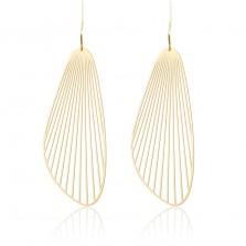 Σκουλαρίκια Fan M (Χρυσό) - Moorigin