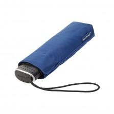 Σπαστή Eπίπεδη Oμπρέλα miniMAX® (Μπλε) - Impliva