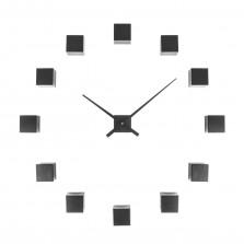 Ρολόι τοίχου Do It Yourself Cubic (Μαύρο) - Karlsson