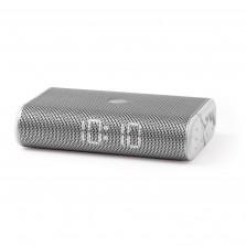 Ψηφιακό Ρολόι LED Ξυπνητήρι / Ηχείο / Ραδιόφωνο MIAMI TIME (Ασημί) - LEXON