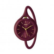 Ρολόι Xειρός Take Time 3 σε 1 (Μπορντό) - LEXON