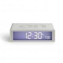 Ψηφιακό Επιτραπέζιο Ρολόι Ξυπνητήρι Flip+ (Λευκό) - LEXON