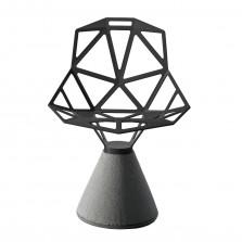 Καρέκλα Chair One με Βάση από Τσιμέντο (Μαύρο) - Magis
