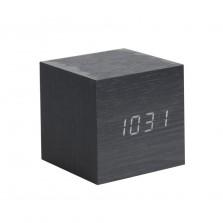 Επιτραπέζιο Ρολόι / Ξυπνητήρι Mini Cube (Μαύρο) - Karlsson