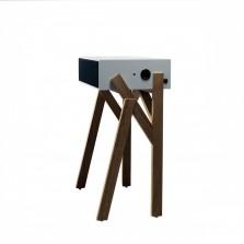 Ψηλό Τραπεζάκι με Ηχοσύστημα Torototela - miniforms