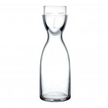 Κρυστάλλινη Καράφα με Ποτήρι Mr. & Mrs. Night (Tall) - Nude Glass