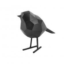 Διακοσμητικό Γλυπτό Origami Bird Small (Μαύρο) - Present Time