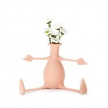 Εύκαμπτο Βάζο για Λουλούδια FLORINO (Ροζ) - Peleg Design
