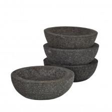 Μπολ Lava Stone Μικρά (Σετ των 2) - Pols Potten