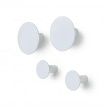 Κρεμάστρες Τοίχου Ponto / Σετ των 4 (Λευκό Micro Chip) - Blomus