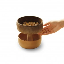 Μπολ Σερβιρίσματος / Βάζο Τροφίμων Acorn - Qualy