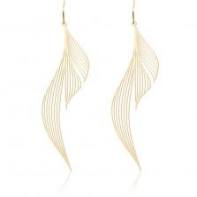 Σκουλαρίκια Ripple M (Χρυσό) - Moorigin