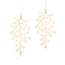 Σκουλαρίκια Snow Days S (Χρυσό) - Moorigin