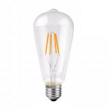 ST64 Διακοσμητικός Λαμπτήρας Vintage LED E27 4 Watt
