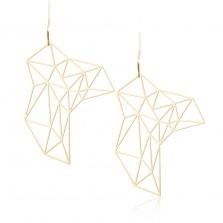 Σκουλαρίκια Stone M (Χρυσό) - Moorigin