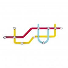Κρεμάστρα Subway (Πολύχρωμη) - Umbra