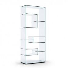 Γυάλινη Βιτρίνα Liber A - Tonelli Design