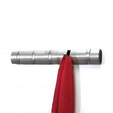 Κρεμάστρα Τοίχου FLIP με 5 Γάντζους Νίκελ (Ασημί) - Umbra