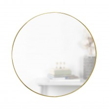 Στρόγγυλος Καθρέφτης Τοίχου Hubba 86 εκ. (Χρυσός) - Umbra