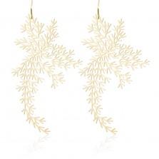 Σκουλαρίκια Waterweeds M (Χρυσό) - Moorigin