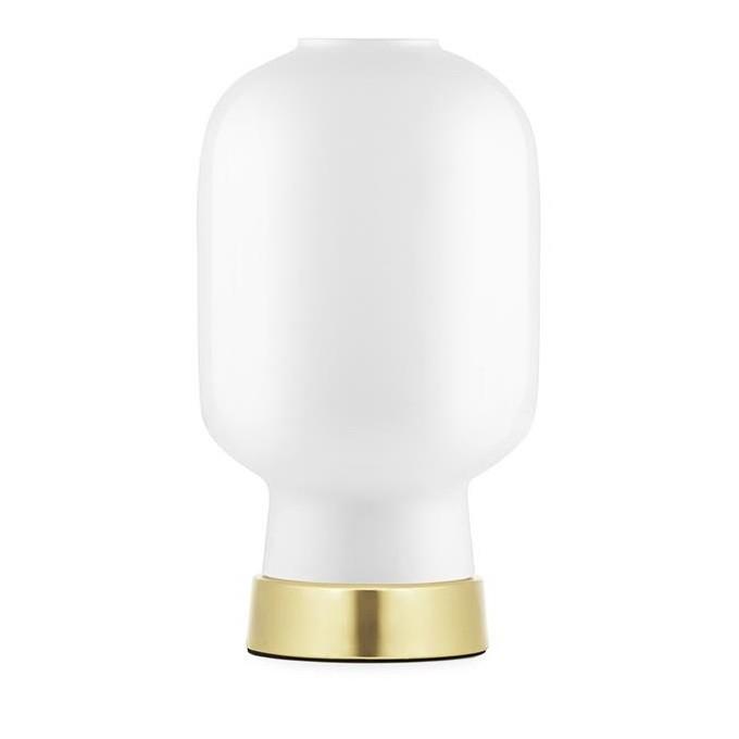 Επιτραπέζιο Φωτιστικό Amp (Λευκό / Χρυσό) - Normann Copenhagen