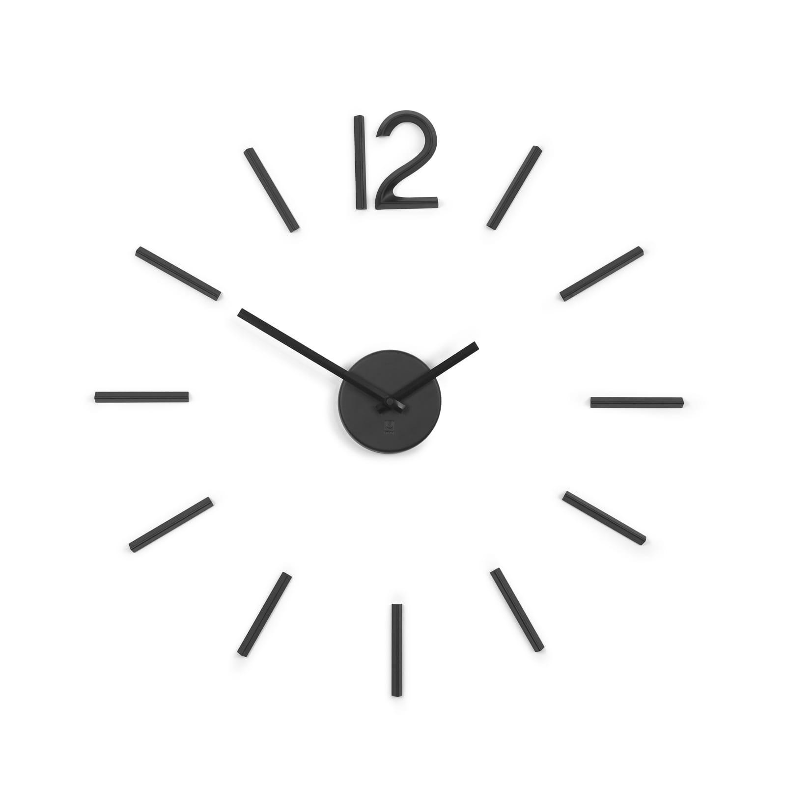 Ρολόι τοίχου Blink (Μαύρο) - Umbra