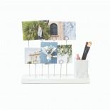 Βάση Φωτογραφιών / Μολυβοθήκη Gala (Λευκό) - Umbra