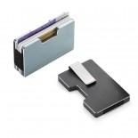 Θήκη Καρτών / Money Clip COOPER με RFID Blocking (Ασημί) - Philippi