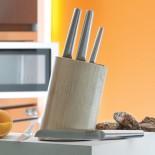 Ξύλινη Βάση Μαχαιριών με 6 Μαχαίρια Essentials - BergHOFF