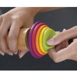 Πλάστης Ρυθμιζόμενος Rolling Pin Πολύχρωμο της Joseph Joseph