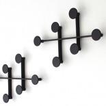 Κρεμάστρα Τοίχου Afteroom (Μαύρο) - Menu