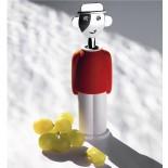Ανοιχτήρι Κρασιού / Τιρμπουσόν Alessandro M. Κόκκινο Alessi