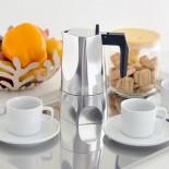 Καφετιέρα Εσπρέσο για 3 Φλυτζάνια Ossidiana (Αλουμίνιο) - Alessi