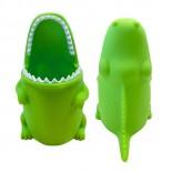 Θήκη / Βάση για Οδοντόβουρτσες Alligator Πράσινο