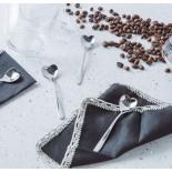 Σετ από 4 Κουταλάκια Καφέ Heart Shaped (Ανοξείδωτο Ατσάλι) - Alessi
