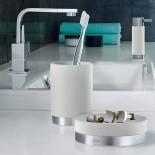 Βάση για Οδοντόβουρτσες ARA Λευκό Blomus