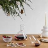 Ποτήρια Κόκκινου Κρασιού Balance 350 ml (Σετ των 2) - Nude Glass