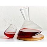 Ποτήρια Κόκκινου Κρασιού Balance 350 ml Σετ των 2 Nude Glass