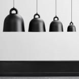Φωτιστικό Οροφής Bell Medium (Μαύρο) - Normann Copenhagen