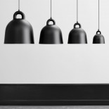 Φωτιστικό Οροφής Bell Small (Μαύρο) - Normann Copenhagen