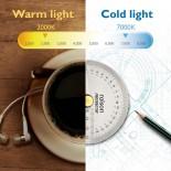 WiT Genie Έξυπνο Φωτιστικό Διαβάσματος LED (Ασημί) - BenQ