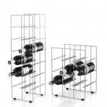 Βάση για 9 Μπουκάλια Κρασιού Pilare (Ματ Ατσάλι) - Blomus