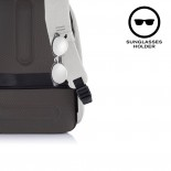 Αντικλεπτικό Σακίδιο Bobby Hero Spring Ανοιχτό Γκρι XD Design
