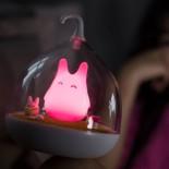 Φωτάκι Νυχτός LED Bunny με Αισθητήρα Αφής & USB Φόρτιση