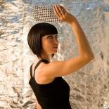 Χειροποίητο Μεταλλικό Τσαντάκι Chica Rosa (Φούξια) - Escama Studio