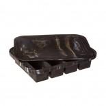 Παγοθήκη Collins Ice Tray Μαύρο Μάρμαρο W&P