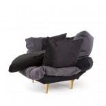 Πολυθρόνα Comfy Γκρι / Ανθρακί Seletti