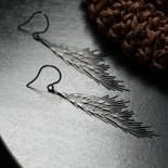 Σκουλαρίκια Common Reed M (Μαύρο) - Moorigin
